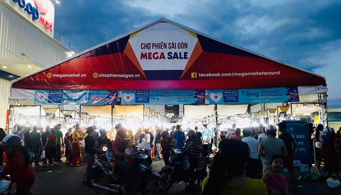 Mega Market La Gi 04/2019