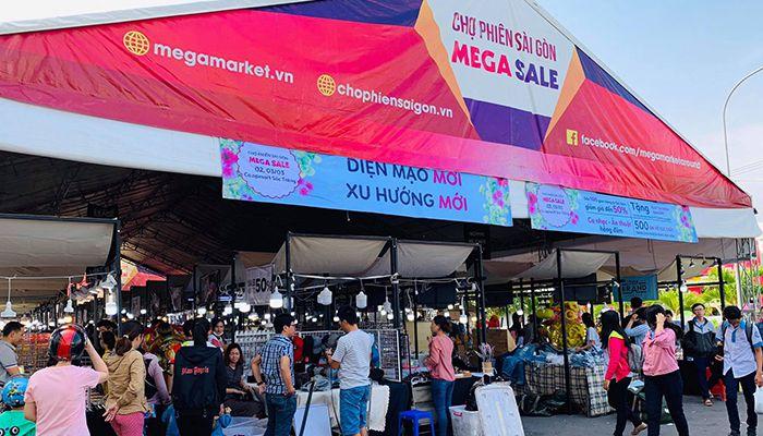 Mega Sale tại Phan Rí Cửa