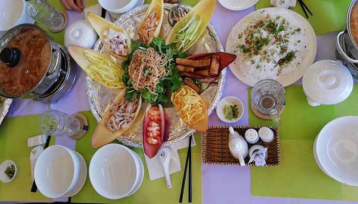 Đặc sản lẩu thả Bình Thuận