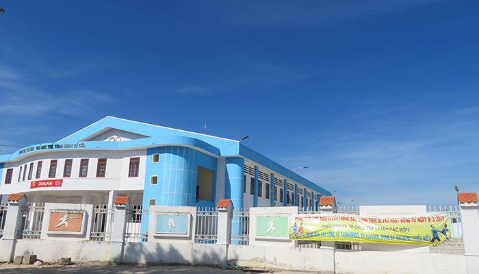Trung tâm VHTT Phan Rí Cửa chính thức hoạt động
