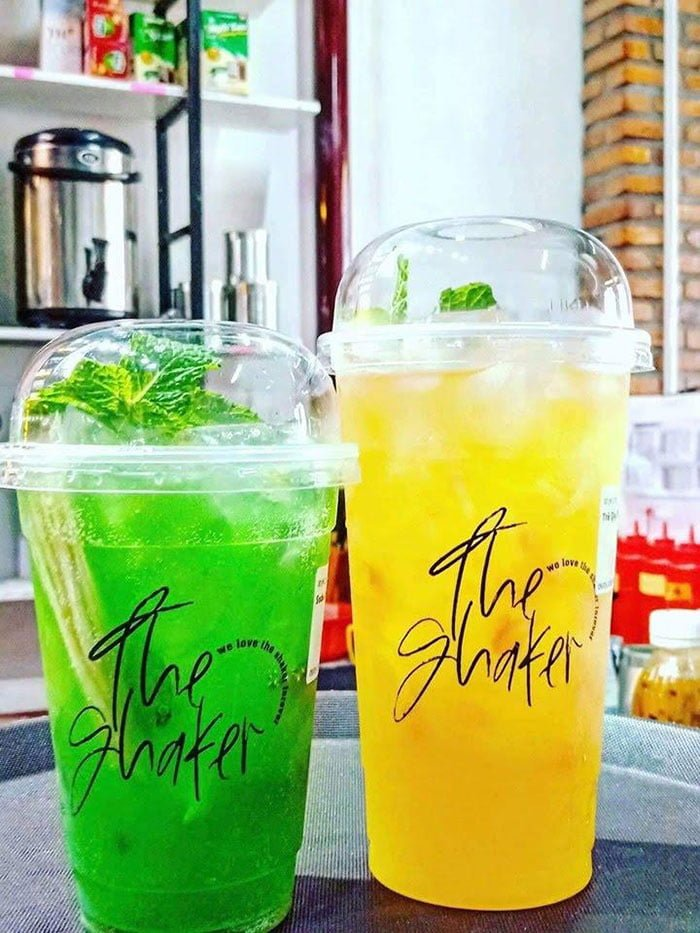 Trà Quý Phi và Soda Chanh
