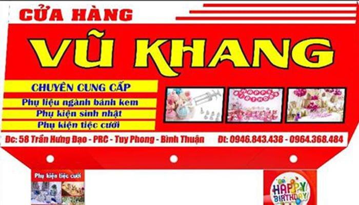 cửa hàng Vũ Khang