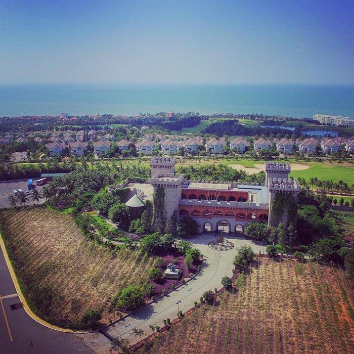 Lâu đài Rượu Vang ở Mũi Né Phan Thiết