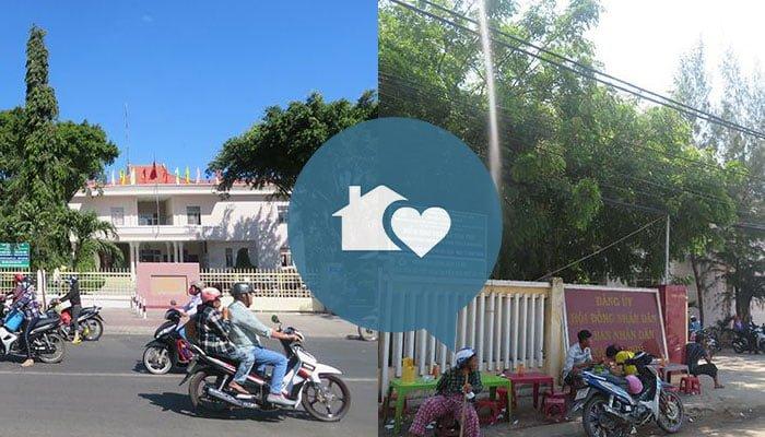 Xã Hòa Phú và thị trấn Phan Rí Cửa