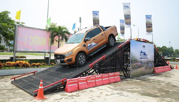 Sự kiện lái xe địa hình ở Bình Thuận