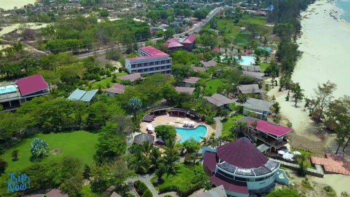 Toàn cảnh Lazi Beach Resort