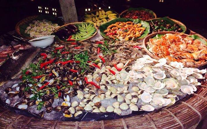 đặc hải sản ở các khu chợ Phan Thiết