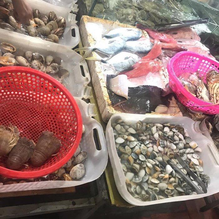 hải sản Chợ Phan Thiết