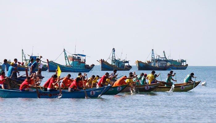 Giải đua thuyền huyện Tuy Phong