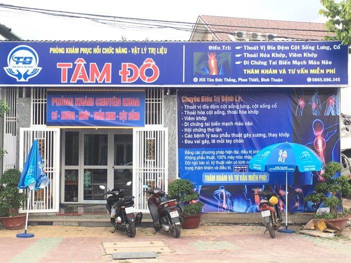 Phòng khám phục hồi chức năng - vật lý trị liệu Tâm Đô ở Phan Thiết