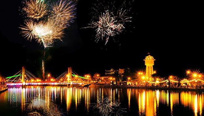 bắn pháo hoa Bình Thuận 2020