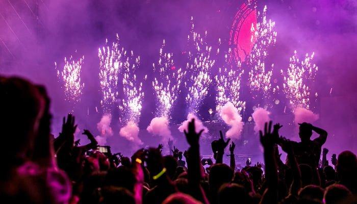 Lễ hội countdown chào đón năm mới