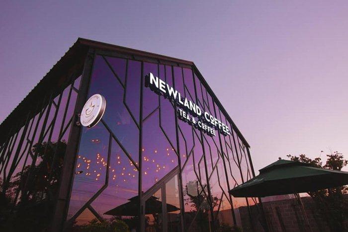 view cực đẹp của Newland Coffee