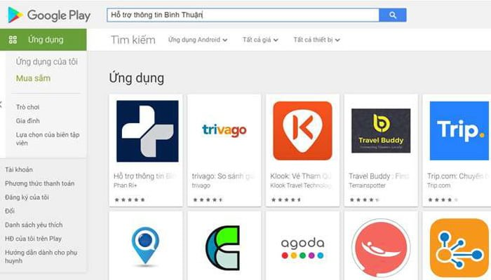 Hỗ trợ thông tin Bình Thuận