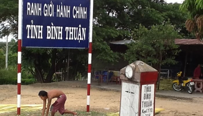 ranh giới hành chính Bình Thuận