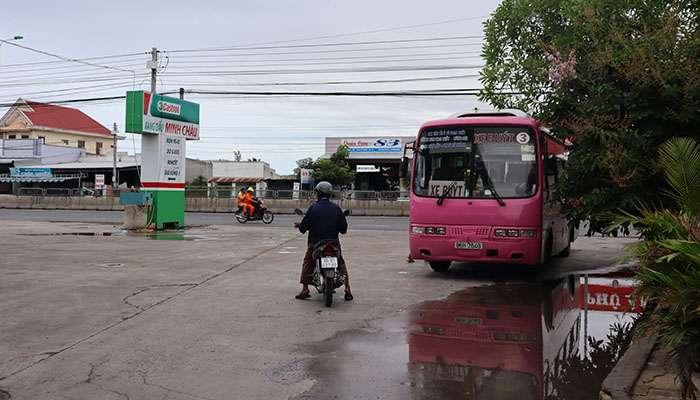 Xe buýt số 3 tại Bình Thuận