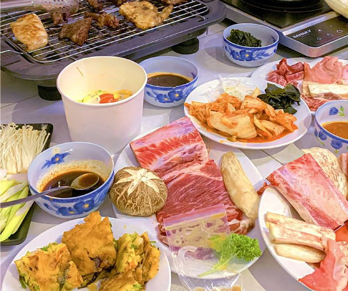 Thịt nướng tại Gogi House