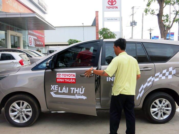Đại lý ô tô Toyota Bình Thuận