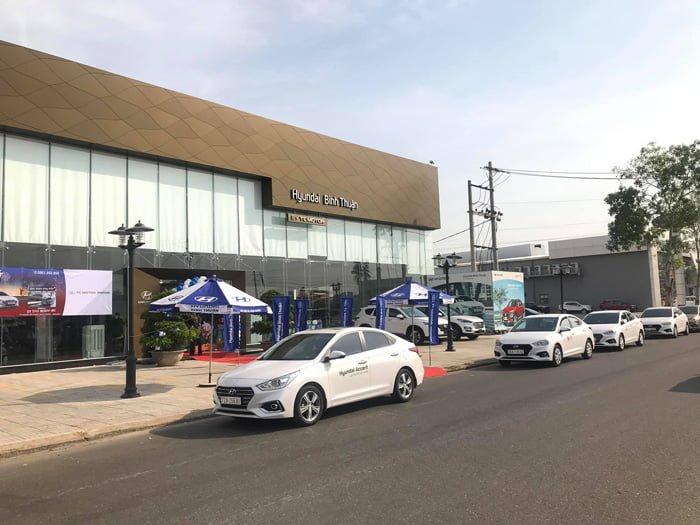 Đại lý ô tô Bình Thuận Huyndai
