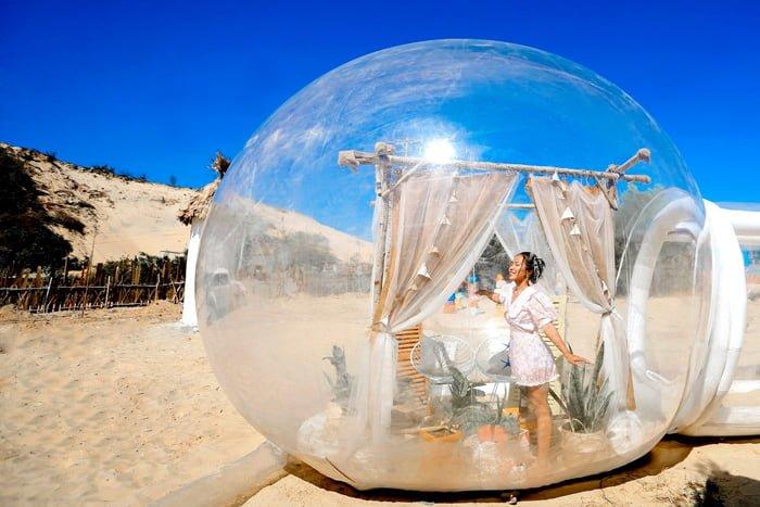 căn phòng bong bóng