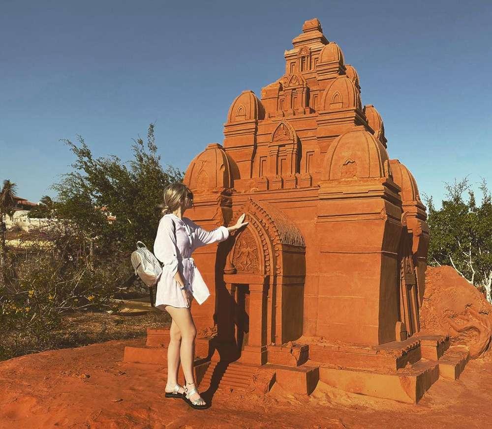 Công viên tượng cát ở Phan Thiết