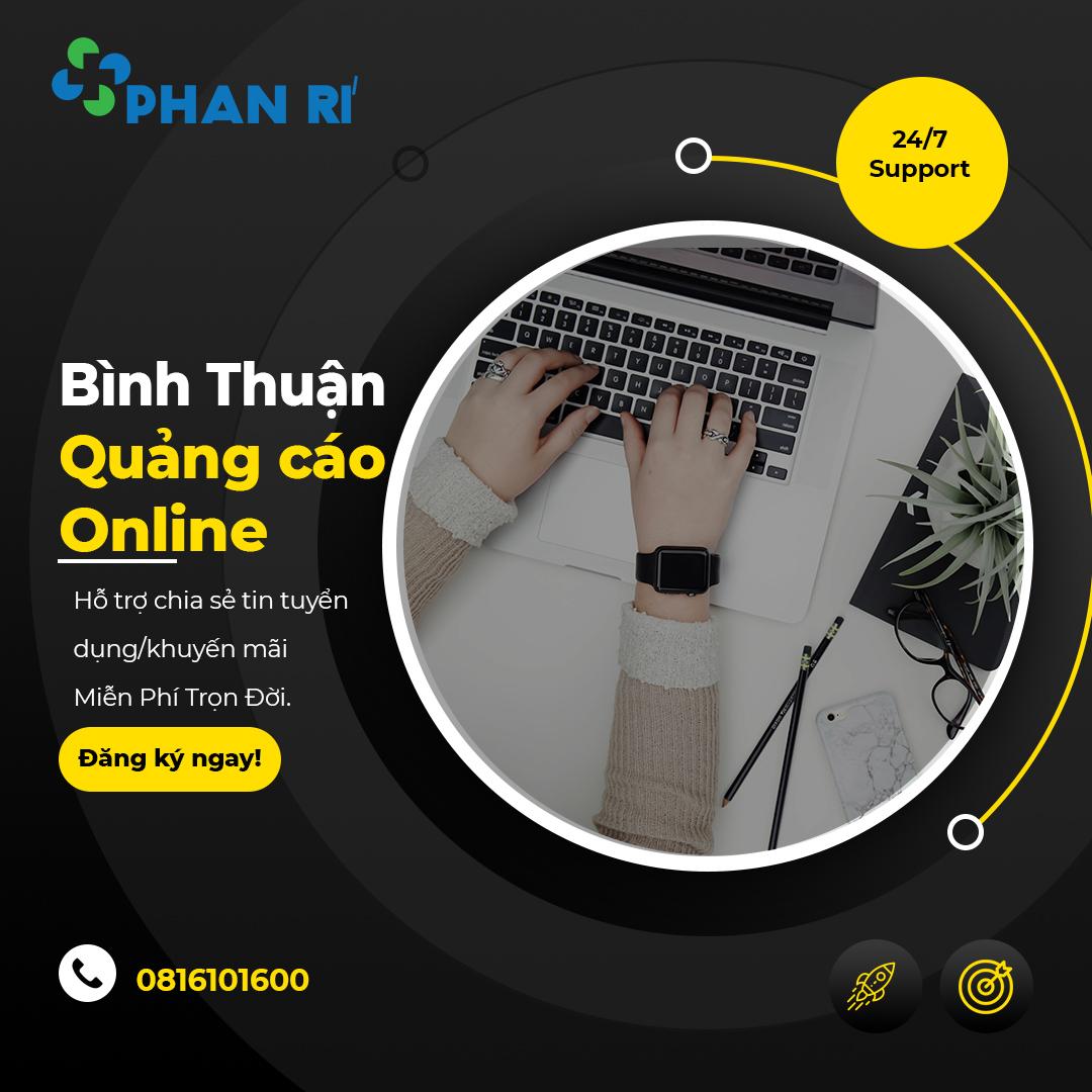 Quảng cáo online Bình Thuận