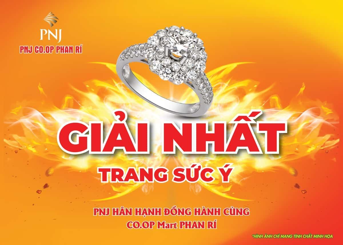 PNJ đồng hành cùng Co.opmart Phan Rí