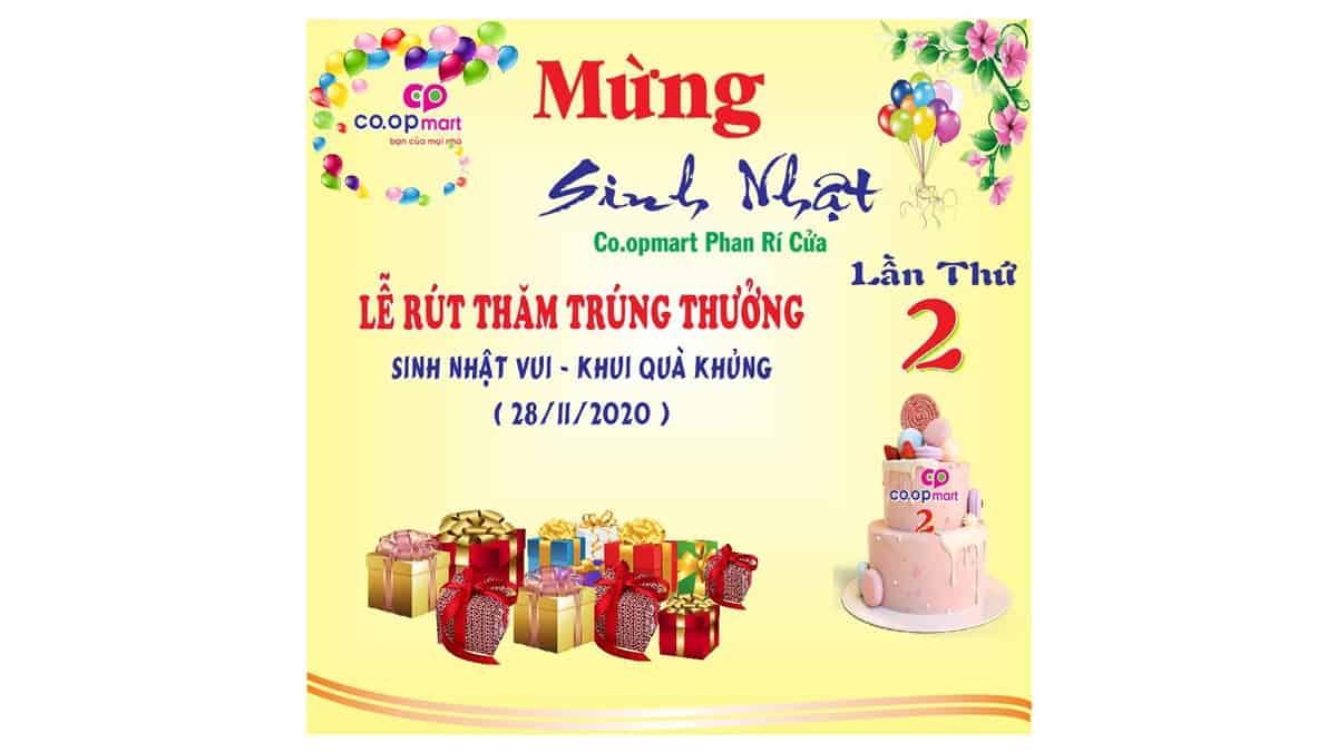 Mừng sinh nhật siêu thị Phan Rí lần 2