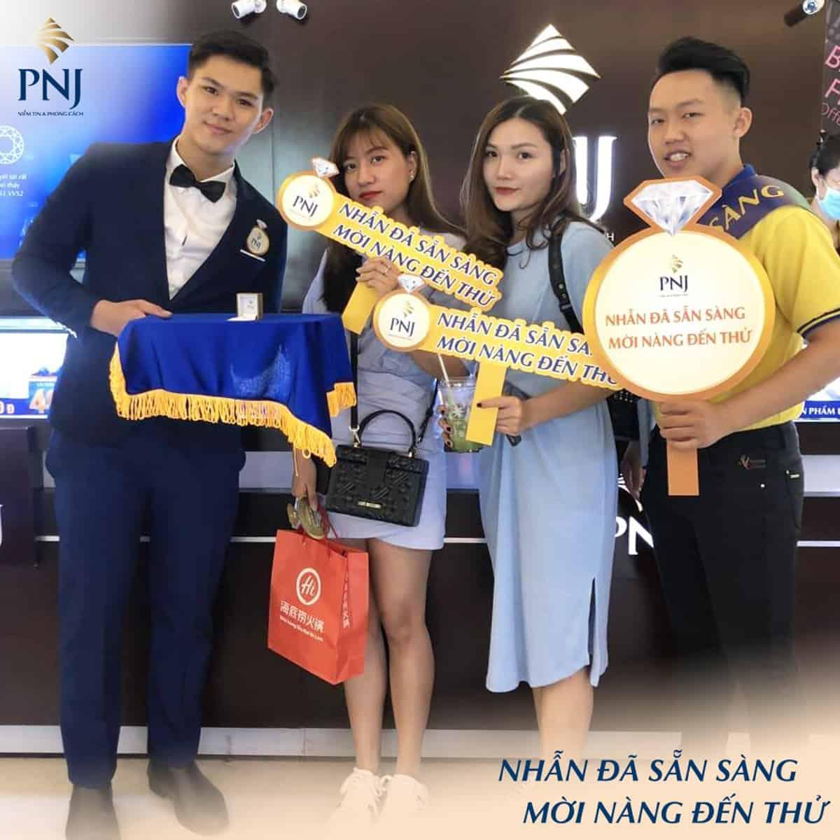 Chương trình ưu đãi Nhẫn Đã Sẵn Sàng, Mời Nàng Đến Thử của PNJ Co.opmart Phan Rí Cửa