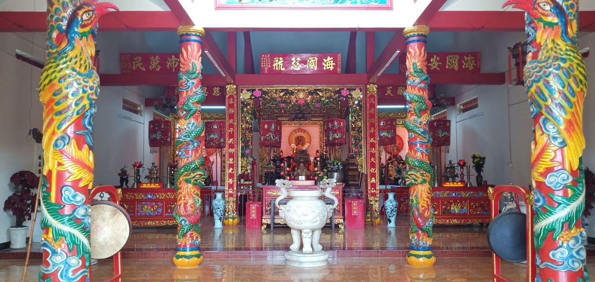 Kiến trúc mang đậm dấu ấn văn hóa người Hoa của chùa Bà Thiên Hậu