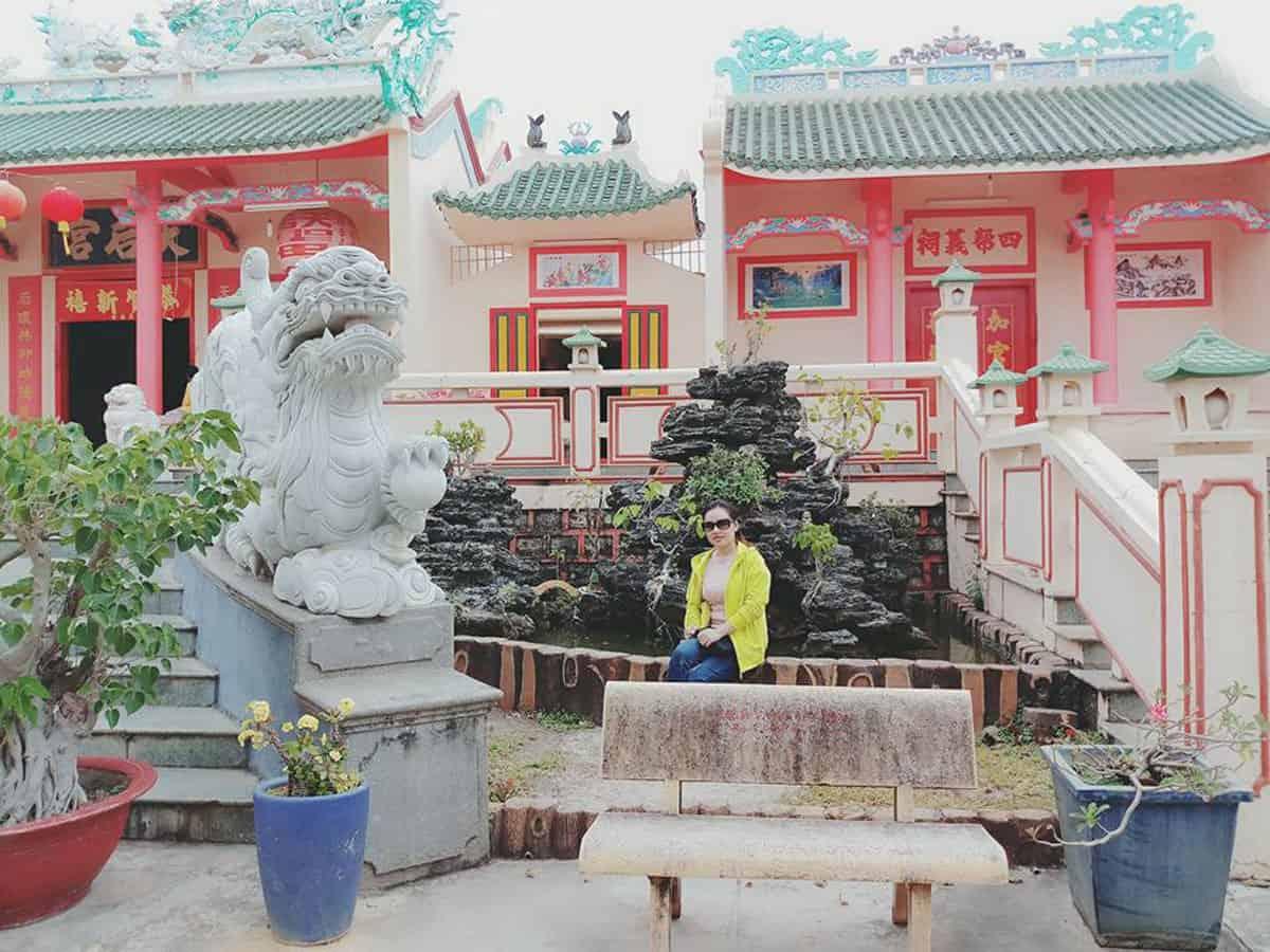 Một góc chùa Bà Thiện Hậu
