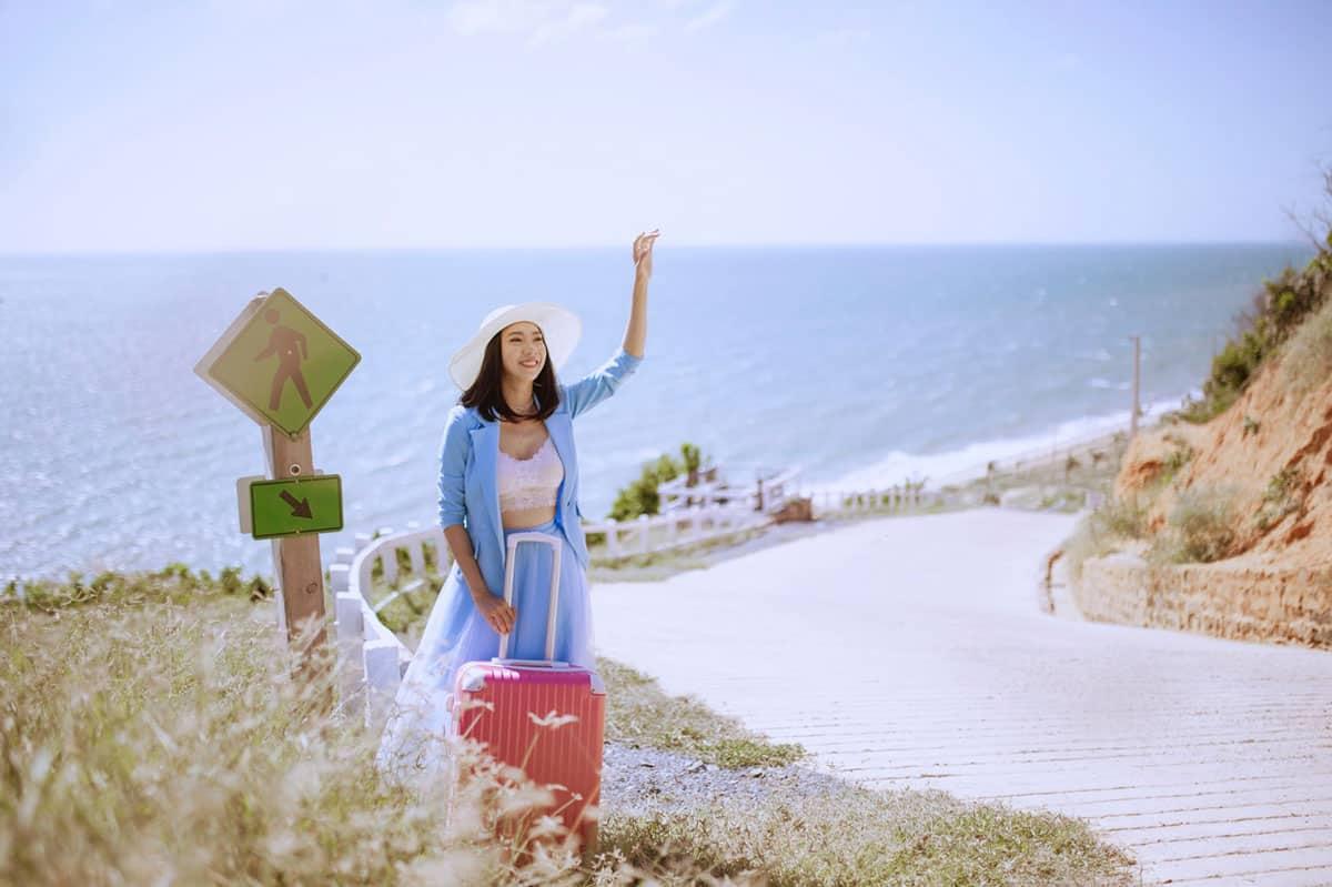 Vẻ đẹp của con đường Hàn Quốc mới lại ở Phan Rí Cửa