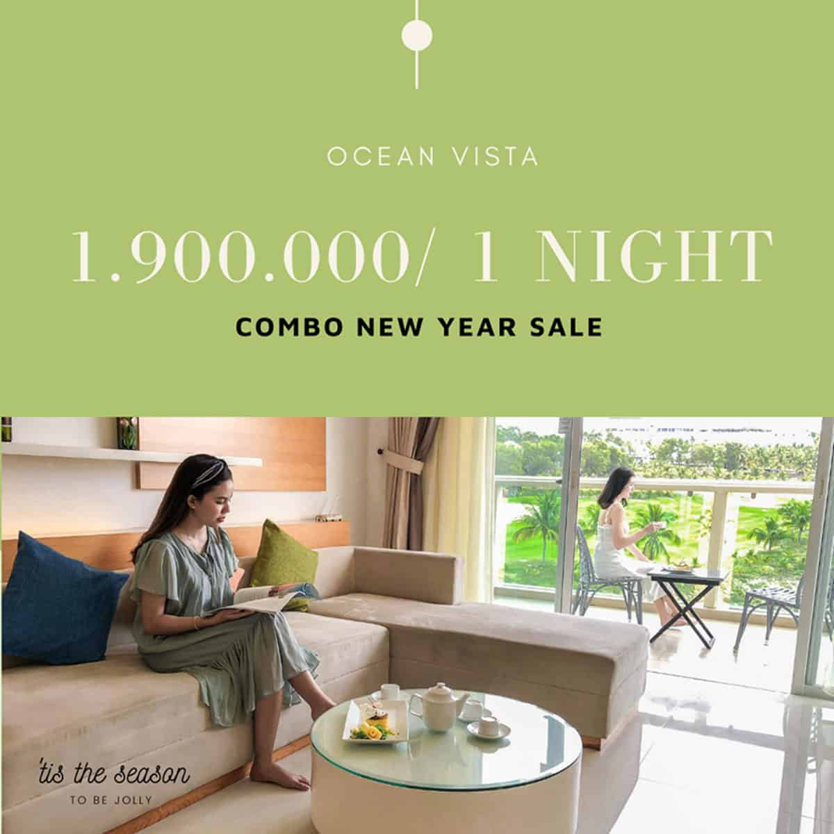 Nghỉ dưỡng sang chảnh tại Ocean Vista chỉ 1.900K/2N1Đ/2 khách