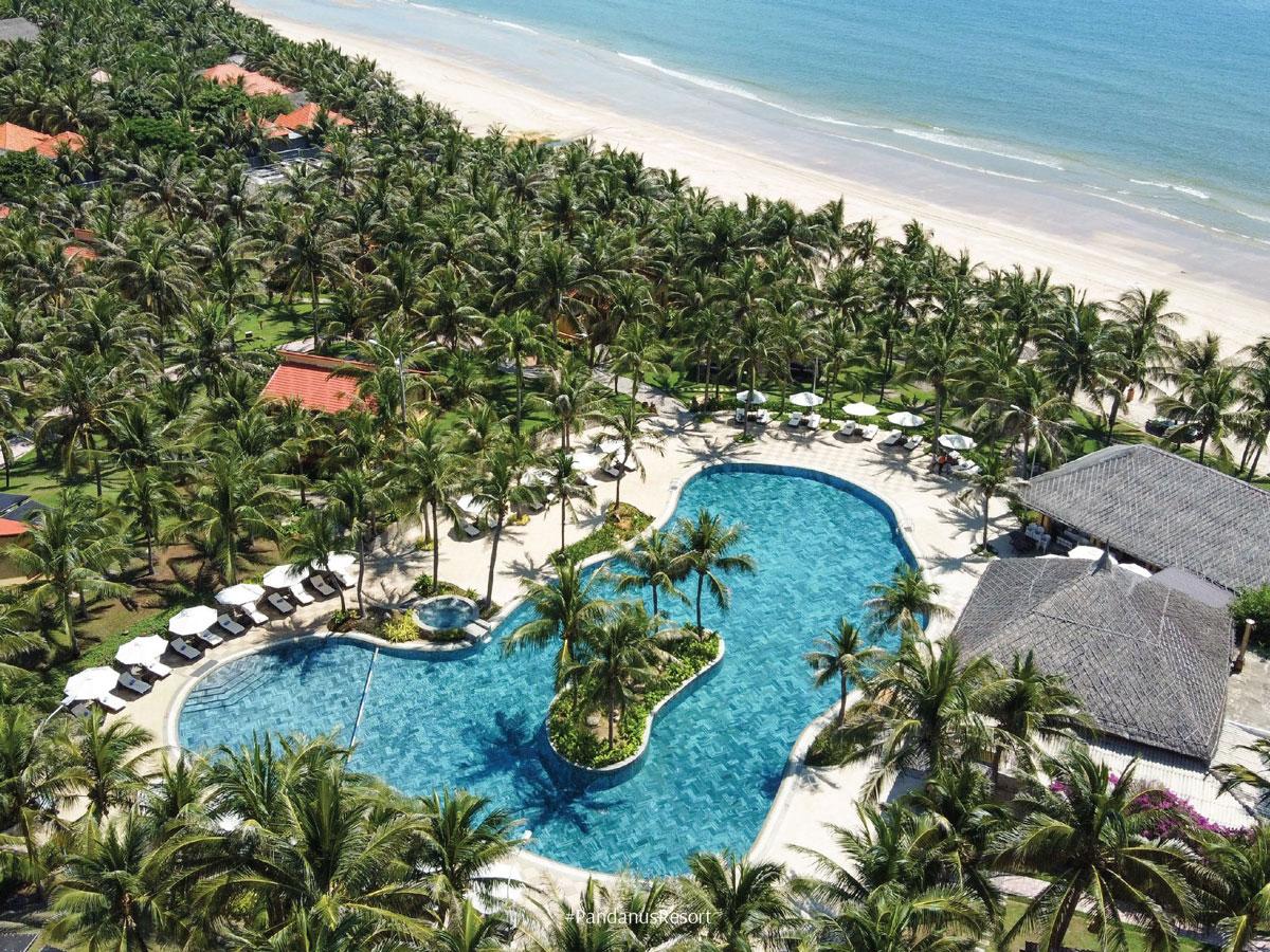 Giảm 50% + Bữa tối/hoặc trưa tại Pandanus Resort Mũi Né 4 sao