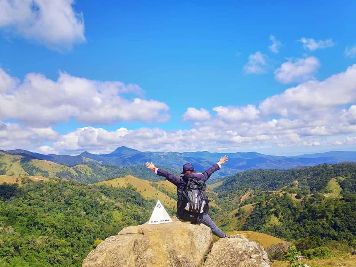 Trên đỉnh Tà Năng Phan Dũng