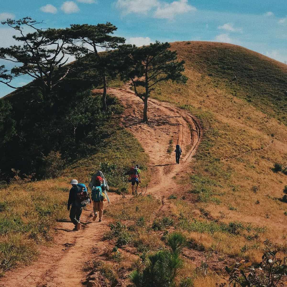 Cung đường trekking Tà Năng Phan Dũng