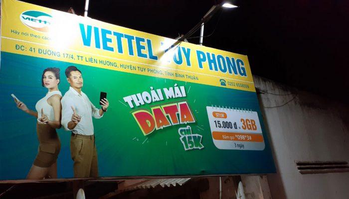 Viettel Tuy Phong tuyển 05 nhân viên kinh doanh trên địa bàn