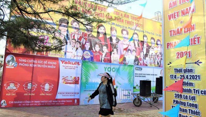 Phan Thiết: Bùng nổ 09 đêm nhạc tại hội chợ Thương mại & Ẩm thực Việt – Thái
