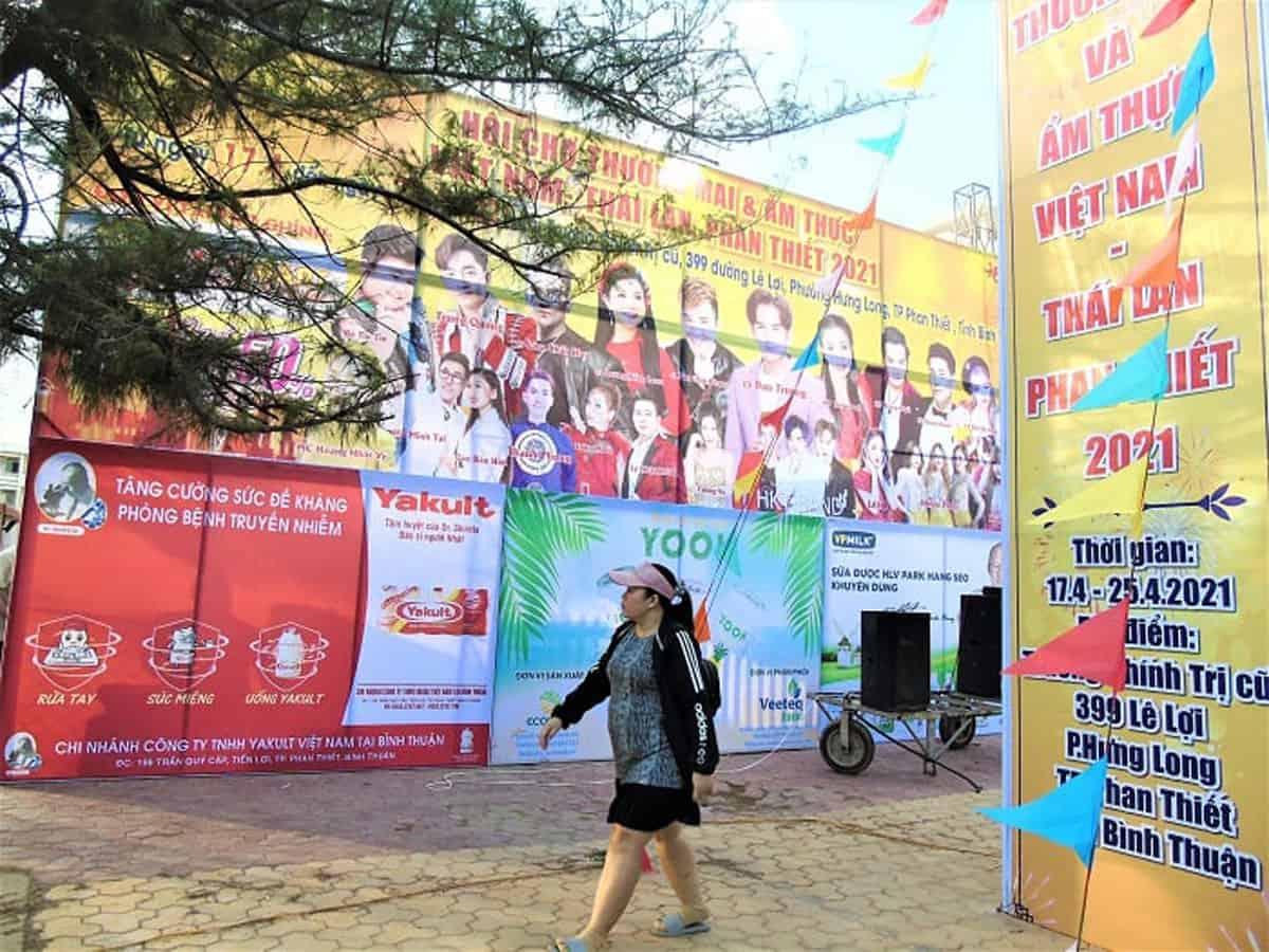 Hội chợ Thương mại & Ẩm thực Việt - Thái tại Phan Thiết