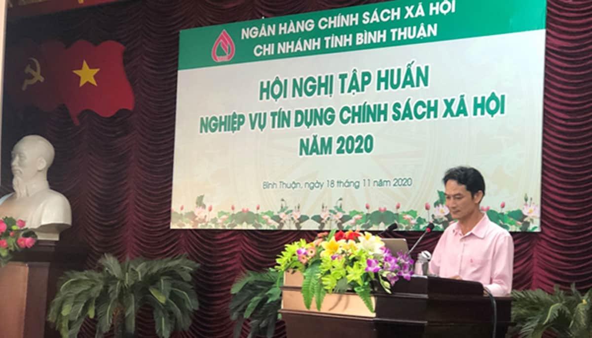 Ngân hàng Chinh sách Xã hội Bình Thuận tuyển 05 Tín dụng, Kế toán