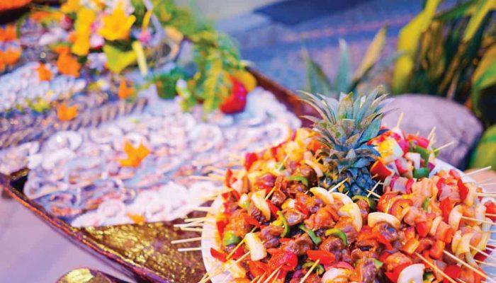 Buffet hoành tráng hơn 50 món tại Pandanus Resort dịp 01/05