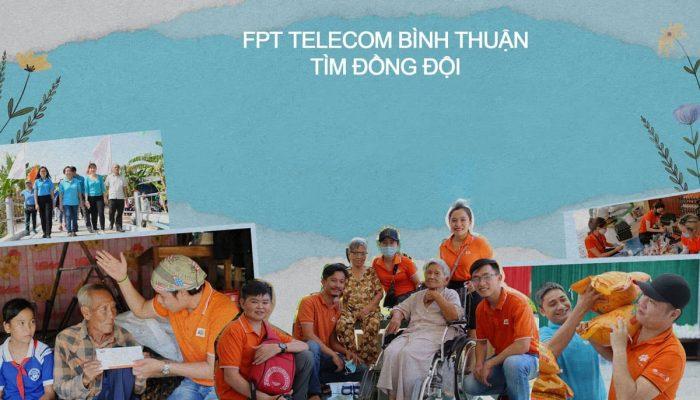 FPT Telecom Bình Thuận thông báo tuyển dụng tại Liên Hương