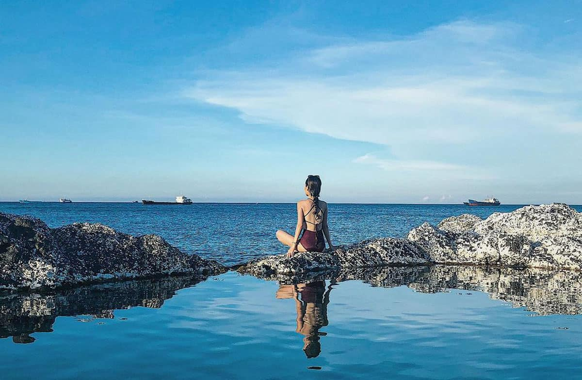 Hồ vô cực ở Phú Quý