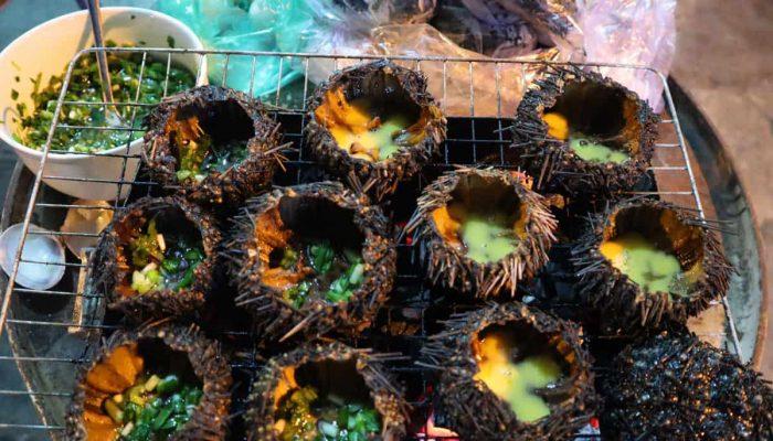 Nhum biển, đặc sản lạ mà quen của vùng biển Bình Thuận