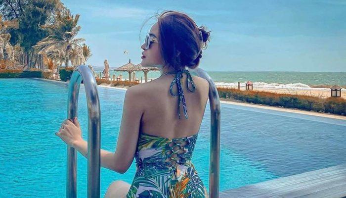 Tắm hồ bơi và ăn kem tại Seahorse Resort chỉ 120K/khách