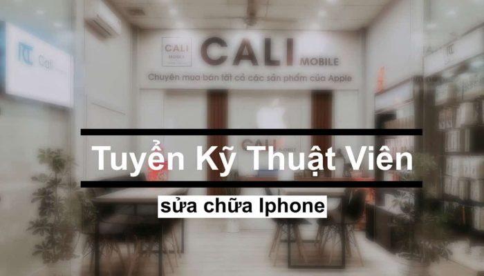 Cali Mobile ở Phan Rí đang cần tuyển vị trí Kỹ thuật viên