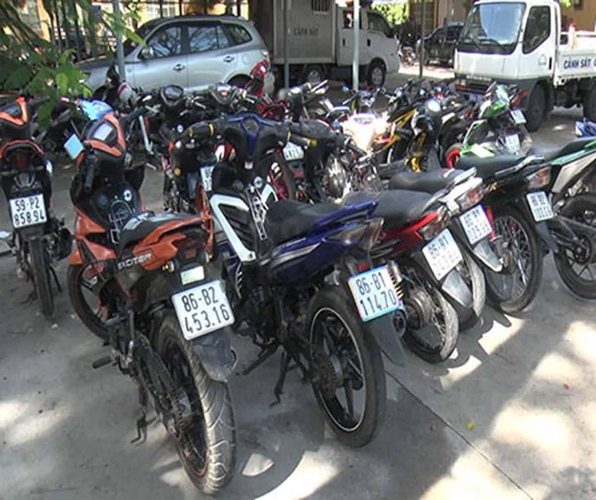 Tuy Phong: Tạm giữ 11 xe mô tô tụ tập, chạy tốc độ cao dịp lễ 2/9 - Ảnh: Kim Anh/Báo Bình Thuận