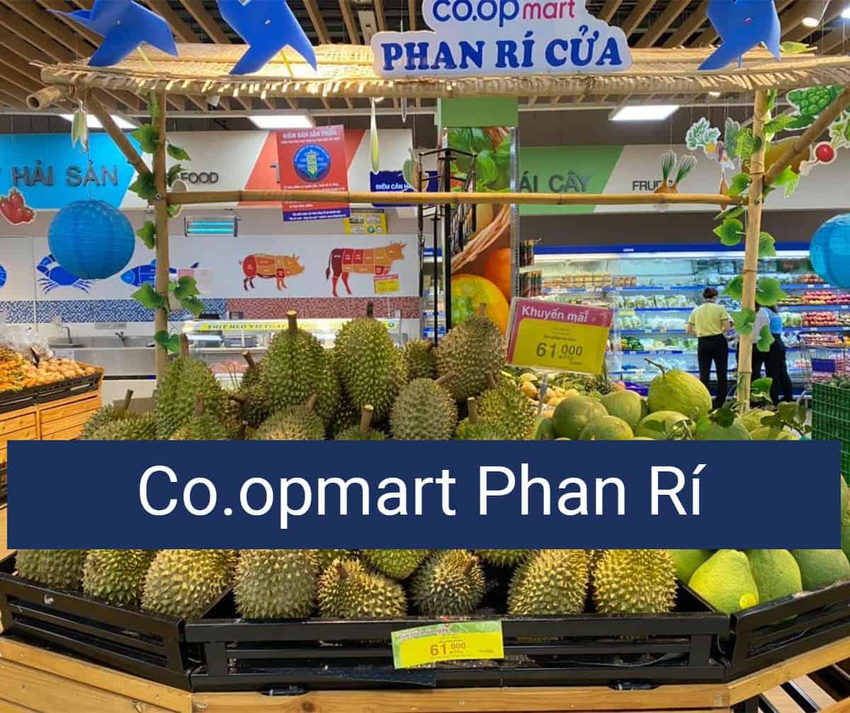 Mua hàng Co.opmart online ở Phan Rí