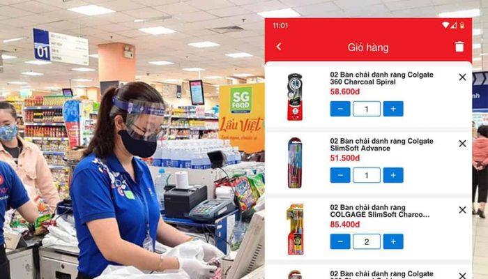Hướng dẫn mua hàng Co.opmart online ở Bình Thuận